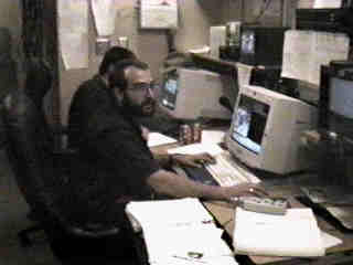 Control room at the UH 2.2-meter telescope in 1996