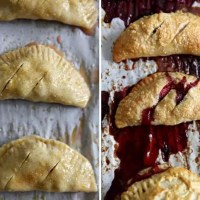 July 4th Food: Strawberry and Blueberry Hand Pies