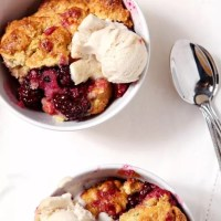 Dairy Free Blackberry Cobbler