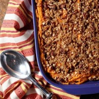 Bourbon Sweet Potato Casserole