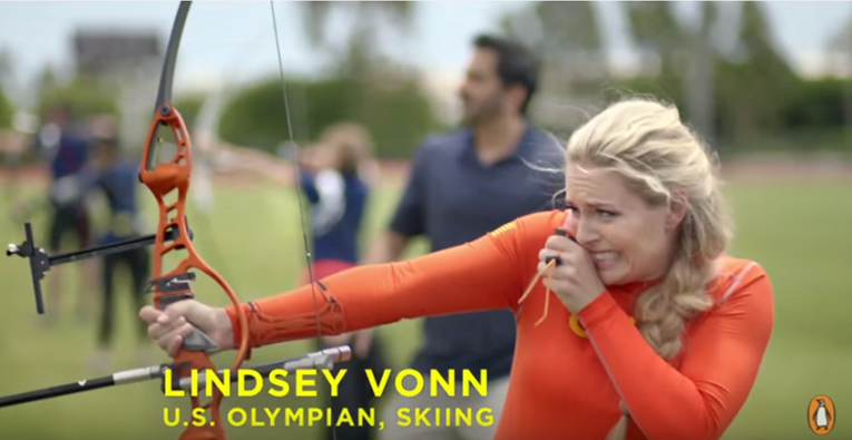 In partnership with Reese's, Lindsey Vonn showcases her Summer Olympic sports prowess