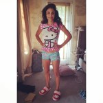 Bethenny Frankel In Daughter's Clothes: Hello Kitty Pajamas Belong To 4-year-old Bryn