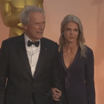 Clint Eastwood Oscar Date Chat: Actor's Oscar Date Christina Sandera Is A Hit Online