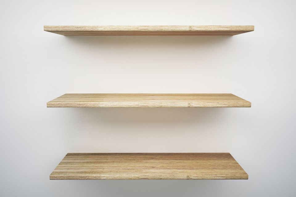 Support Spans And Vertical Spacing For Wall Shelves