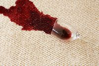How to Remove Beer and Wine Stains From Carpeting