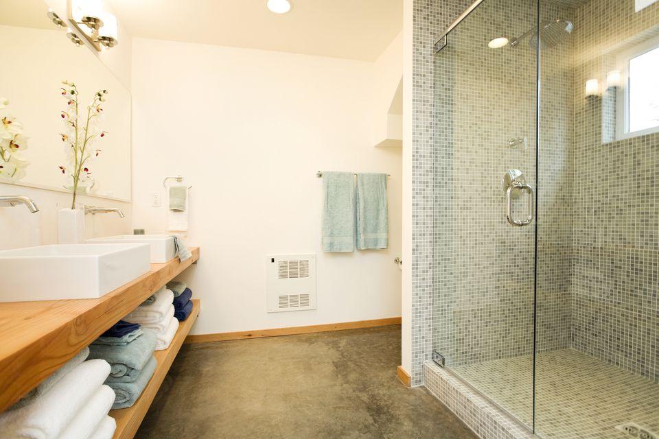 Concrete Bathroom Flooring