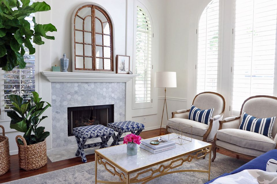 23 Marble Fireplaces For Every Aesthetic And Budget
