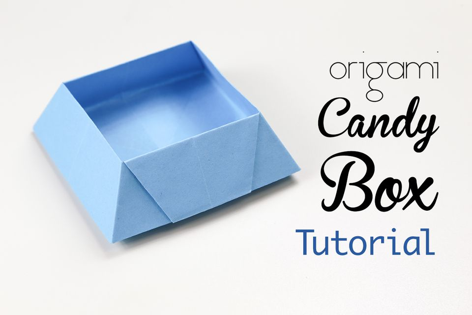 A Tutorial For An Origami Candy Box