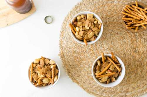 Medium Of Snack Mix Recipes