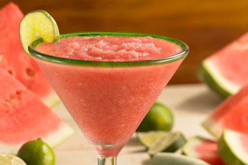 Medium Of Watermelon Vodka Drink