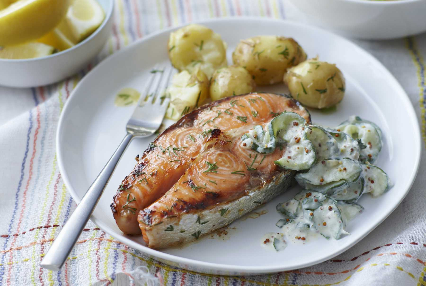 Fullsize Of Salmon Steak Recipe