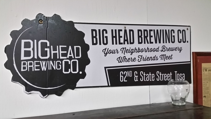 Big Head Brewing Company in Wauwatosa, WI.