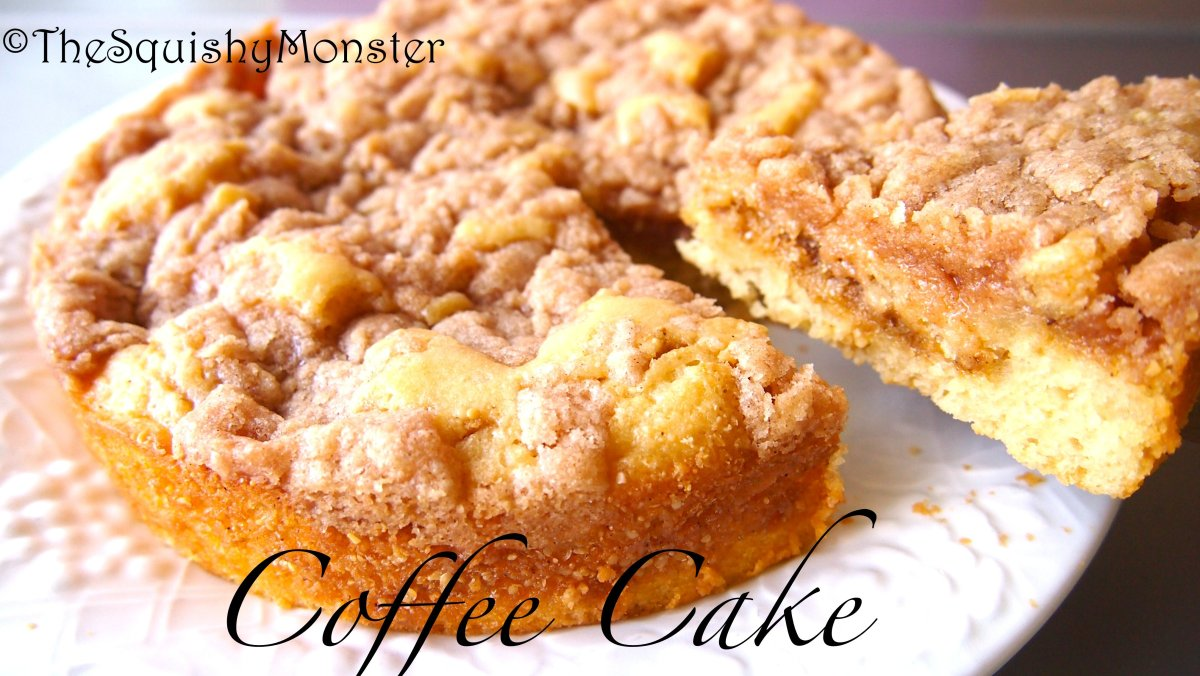Coffee Cake | The Squishy Monster
