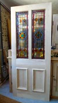 Home Entrance Door: Glass Panel Doors