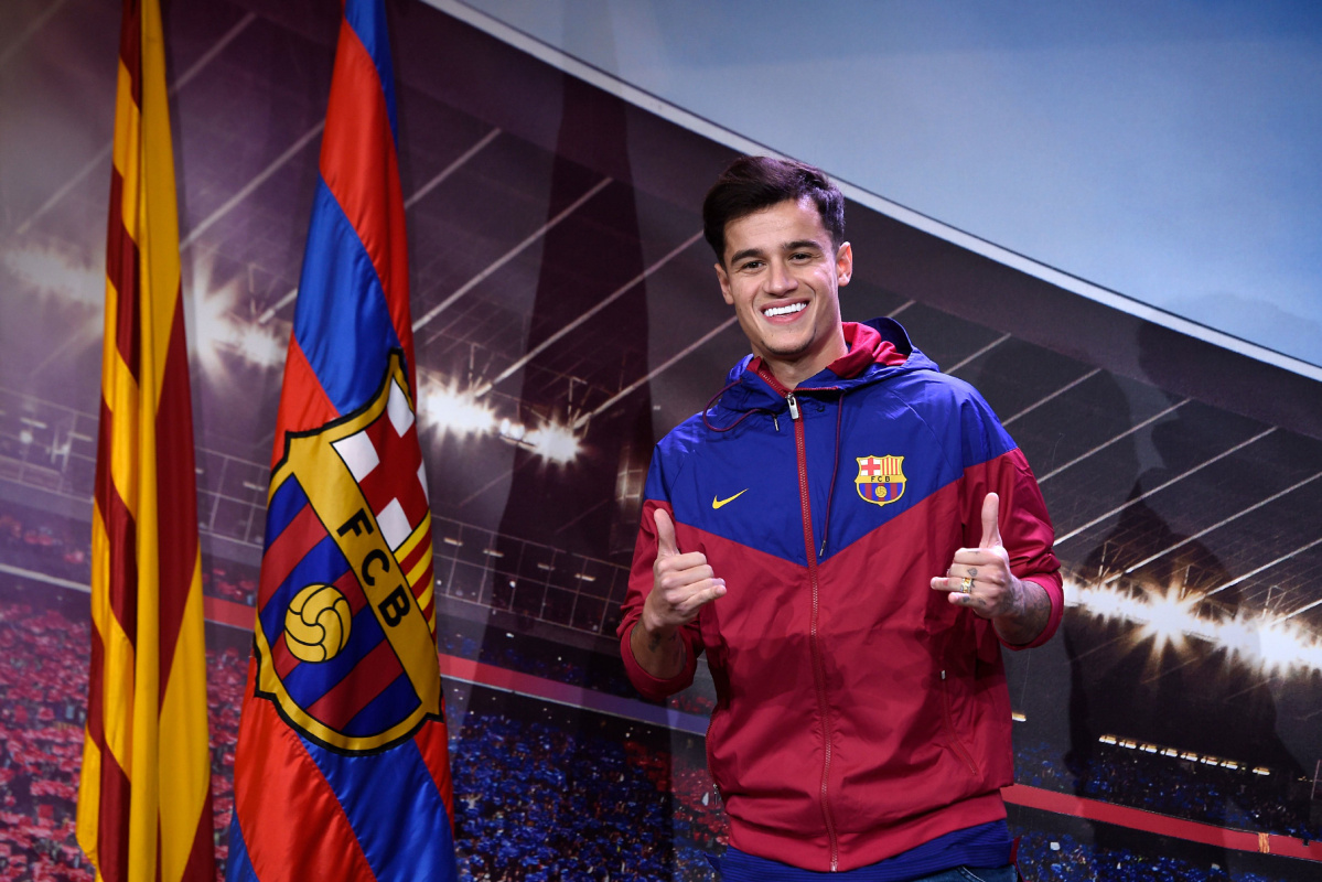 Messi Full Hd Wallpaper Philippe Coutinho Emulating Barcelona S Brazilian Legacy