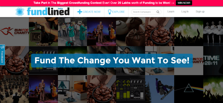 Fundlined – Crowdfunding Platform For Bringing Ideas To Reality