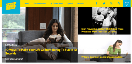 Softbank Acquires Equity in ScoopWhoop