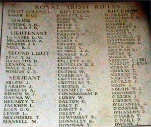 Sgt Arthur Burgess Memorial