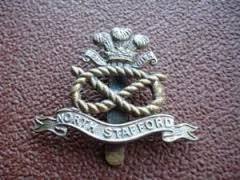 North Staffordshire regimental Badge
