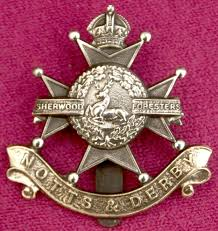 Notts & Derby Regimental Badge