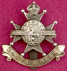 Notts & Derby Regimental Badge