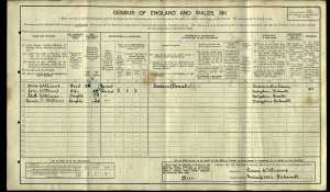 1911 Census, living in Bakewell with wife & children working as Gardener.