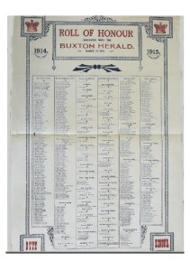 1915 Roll of Honour