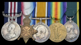Serjeant G R Davenport's Medals, sold at auction