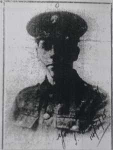 Sgt J B Millward