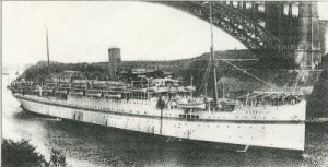 ss neuralia WW1 Hospital Ship