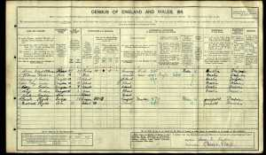 Cordon 1911 Census