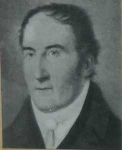 George E Mounsey was the Vicar at St Peters 1815-1852