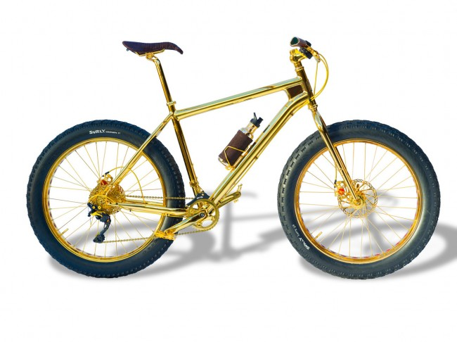 House of Gold Fat Bike