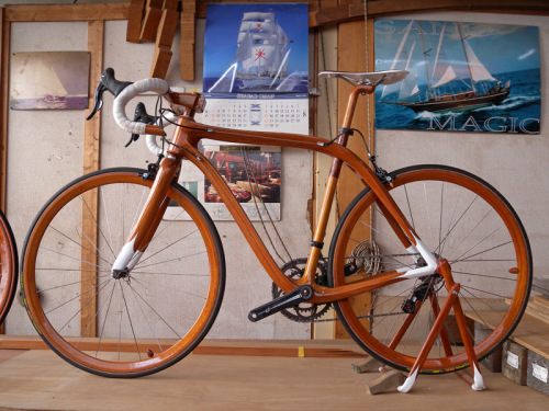 Wooden bikes are getting better