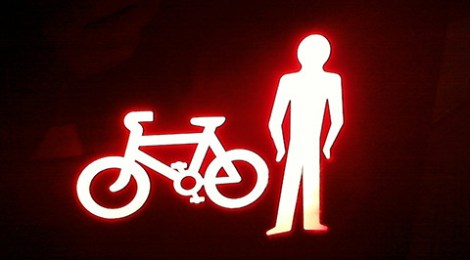 The difference between pedestrians and cyclists