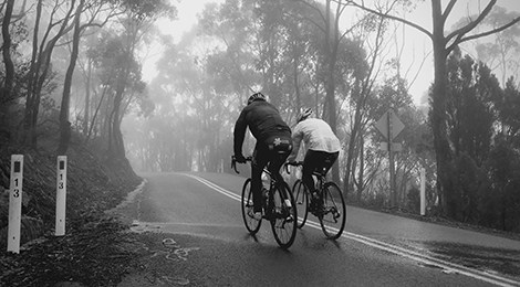 Coping strategies for winter cycling blues