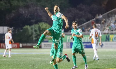 The New York Cosmos have won the 2016 NASL Fall And Combined Season Championships. (Photo courtesy of NASL)