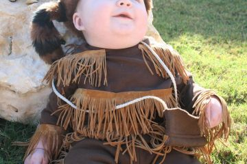 DIY Davy Crockett Costume