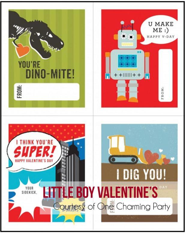 Free Boy's Valentines