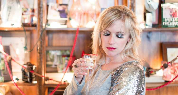 Two sparkly new year's eve makeup ideas