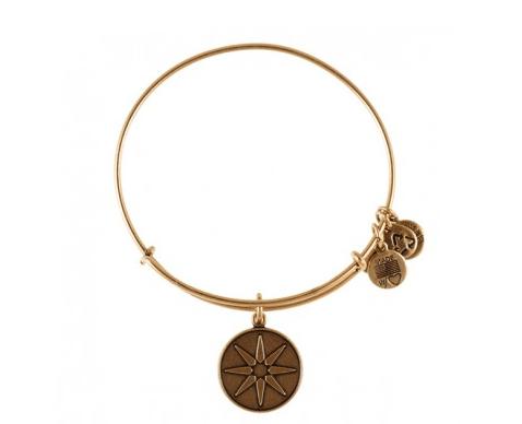 www.AlexandAni.com, Star of Venus Charm Bangle, $28.00