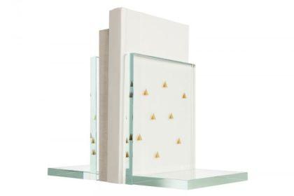 Nate Berkus x Target, Glass Bookends, $14.99