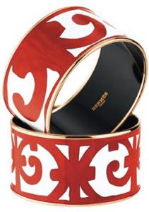 Hermes Balcon du Guadalquivir Eenamel Bracelets, Photo Credit: www.joyce.fr