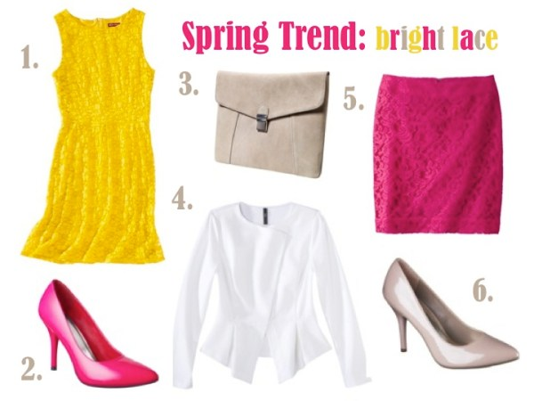 Bright Lace #targetstyle