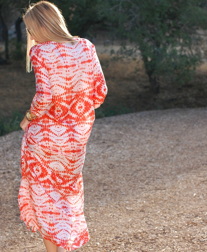 Tanya Scheer Tie Dye Dress