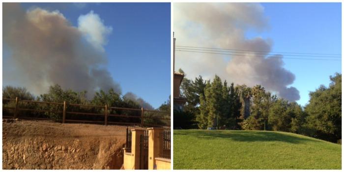 San Elijo Hills Twin Oaks Valley Fire