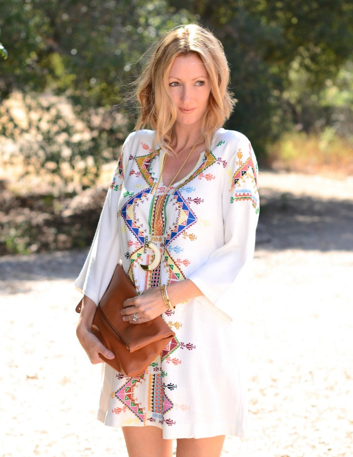 Kate Moss for Topshop Peasant Dress