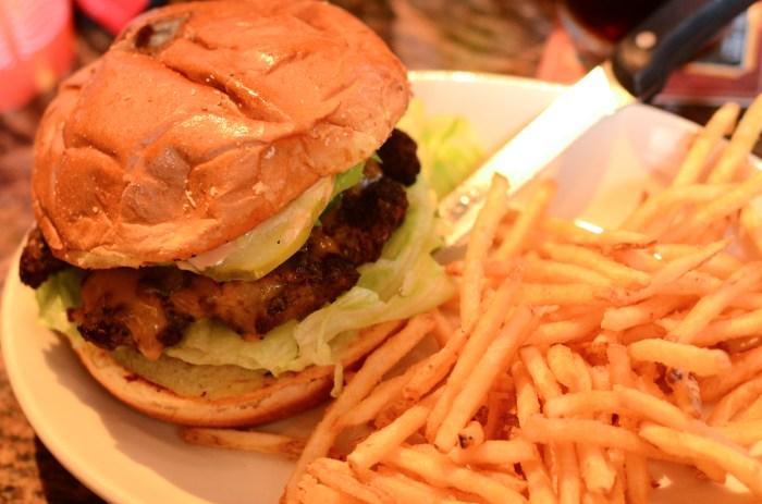 Cheddar Avocado Burger