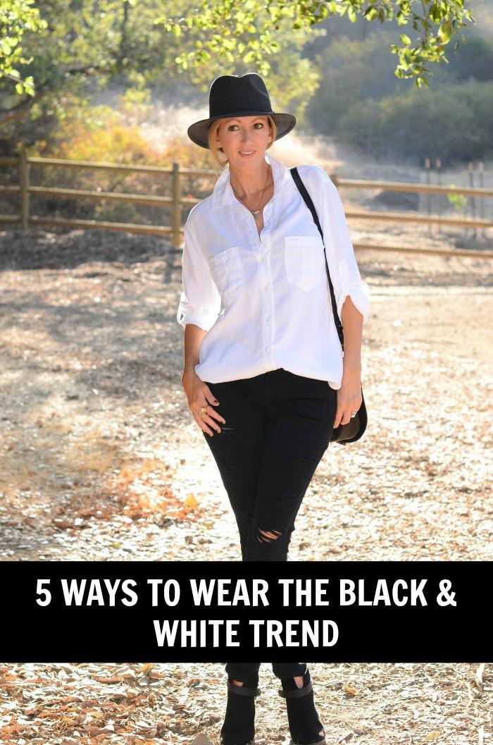 SELFMade 5 Ways to Wear Black & White