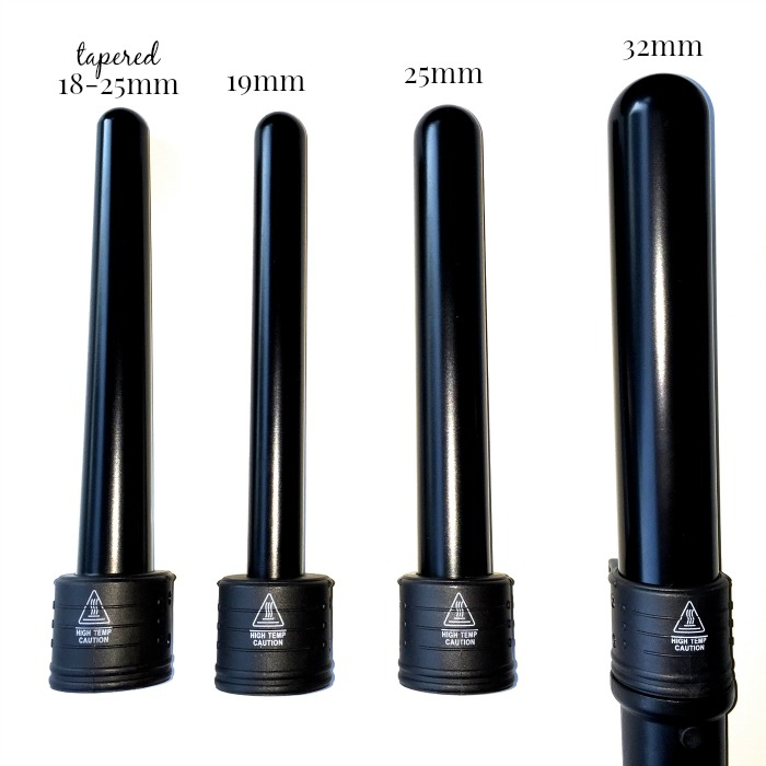 Lionesse 4P Curling Wand Set